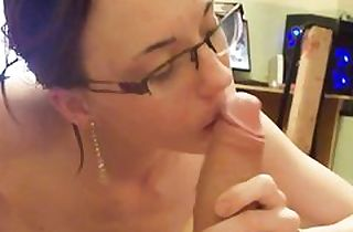 Unexperienced homemade Point of view blow-job sex vid