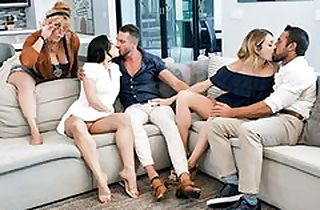 Unconventional Stepdaughter Orgy Therapy