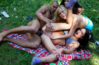 Hard-Core college girl ass-fuck hook-up at BBQ party